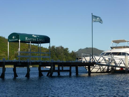Marlborough Region, Nya Zeeland: New Floating jetty makes access easier