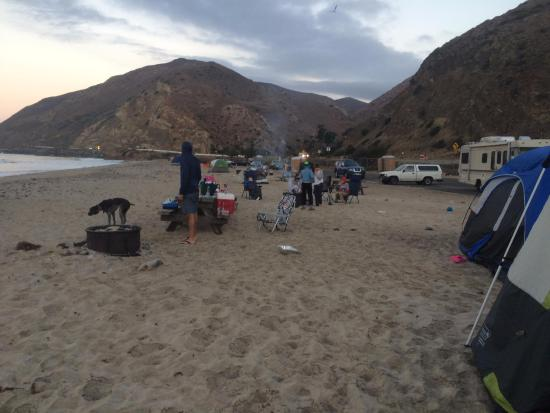 mugu peak picture of thornhill broome campground malibu