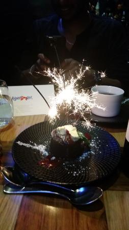 Beaumaris, Αυστραλία: Chocolate Self Saucing Volcano