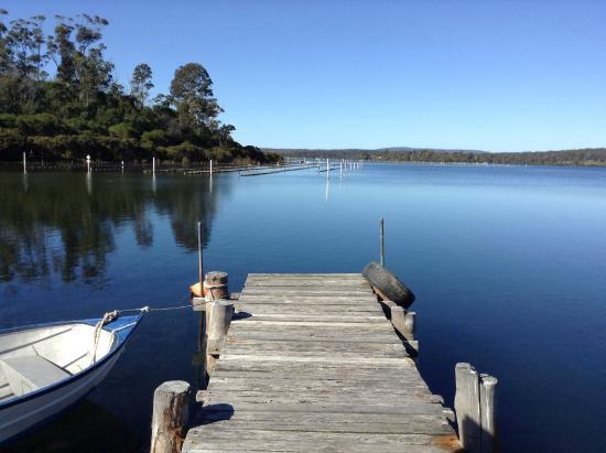 The Peninsular Merimbula : Top Lake