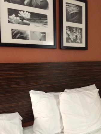 Sleep Inn JFK Airport Rockaway Blvd: 大きなベッド