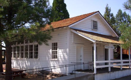 Fall River Mills, CA: School House