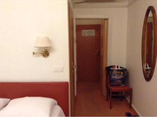Hotel Astoria: Вид с балкона