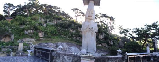 Nonsan, كوريا الجنوبية: 석조미륵보살입상의 파노라마