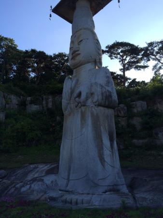 Nonsan, كوريا الجنوبية: 관촉사 석조미륵보살입상