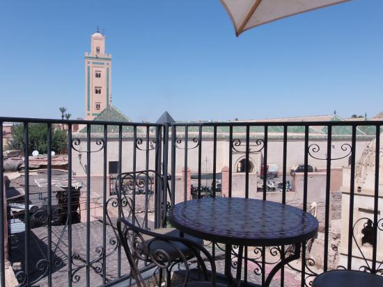Dar Elma: Vu de la terrasse du Riad