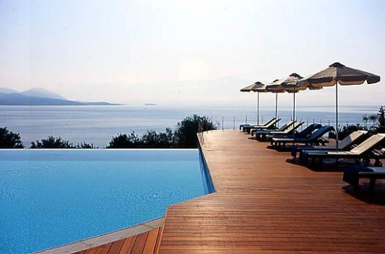Ionian Blue Bungalows & Spa Resort: POOL VIEW
