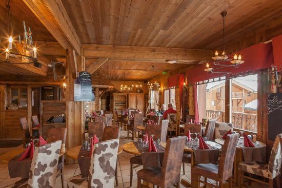 Restaurant L'Auberge des Balcons - Hôtel Les Balcons Village à Belle Plagne
