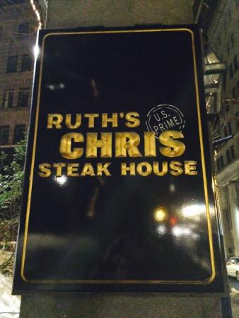 Ruth's Chris Steak House: Name of the restaurant