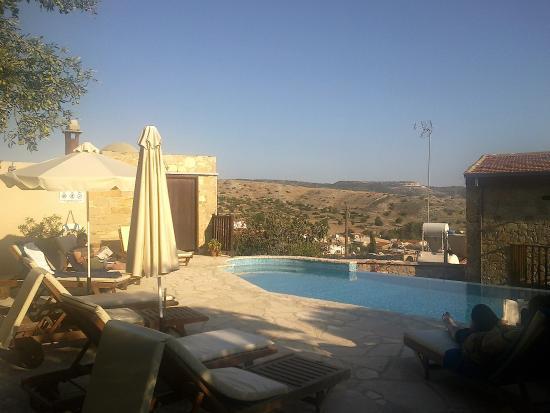 Tochni, قبرص: Innenhof des Hauses 2 nach Süden