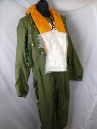 Coldstream, UK: MOD flying suit harness. Lots of coveralls, from practial to warm to 'stylish'!
