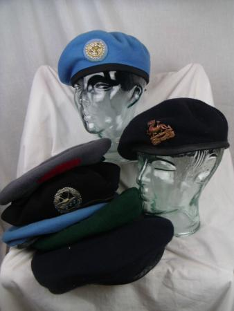 Coldstream, UK: Berets. Too many to list individually but please ask for your specific one.