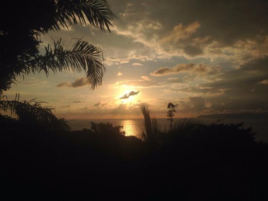 Pavones, Costa Rica: het uitzicht