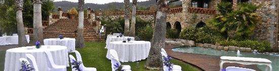 Quart, Spanien: Celebración en los jardines del Siloc