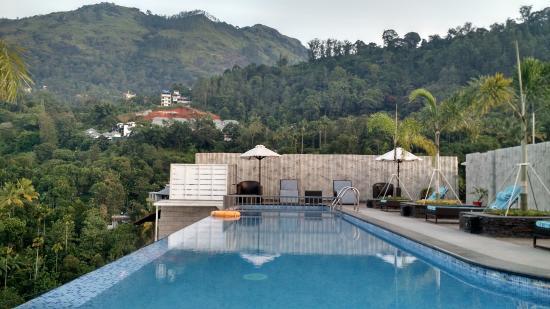 Swimming Pool On Terrace Picture Of The Panoramic Getaway Chithirapuram Tripadvisor