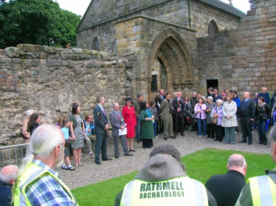 Kilwinning, UK: Launch of archaeological excavations