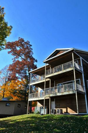 Sun Castle Resort: Sun Castle Townhouses in the Fall