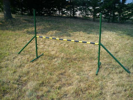 Hotel GRANTE: Obstacle course for dog agility
