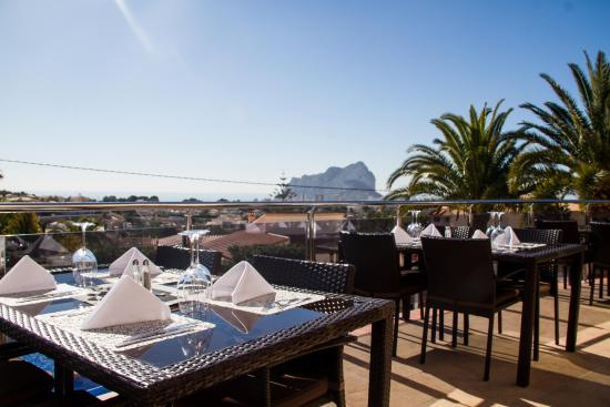 Gran Sol Calpe: View from the terrace
