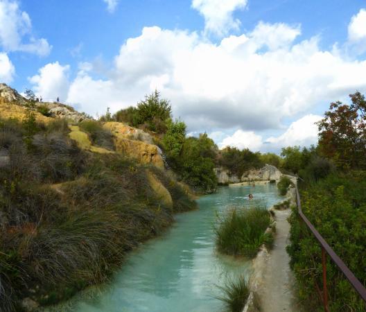 Vasca Termale!! - Foto di Parco dei Mulini, Bagno Vignoni - TripAdvisor