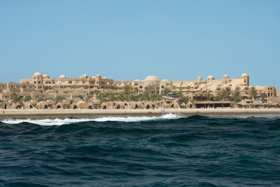 Utopia Beach Club: Panorama from the sea