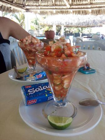 Уэстерн-Хайлендс, Гватемала: Ceviche de Camaron at El Pantanal