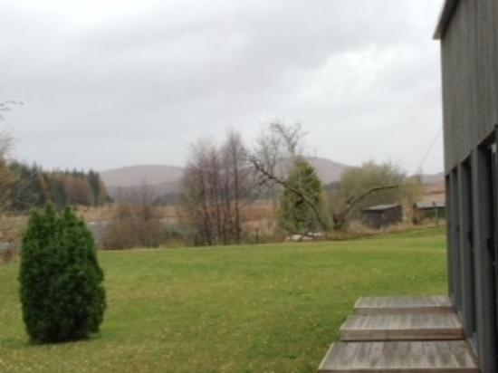 Bridge of Orchy, UK: View from room