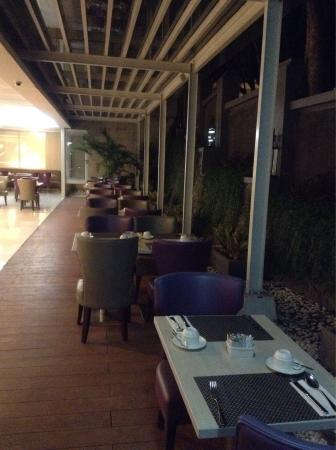 Restaurant in the evening (where I ordered some desserts to celebrate my birthday) Indonesian de