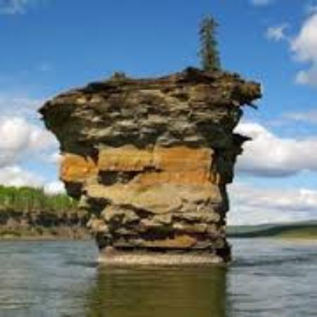 Hudson's Hope, Canada: Teapot Island