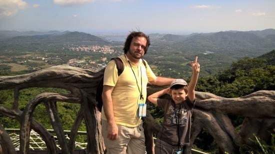 Yanoda Rainforest Yihao Resort: Вид сверху