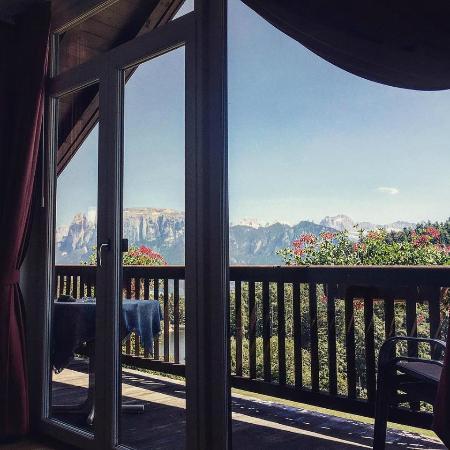 Lichtensternhof: Vista dal balcone