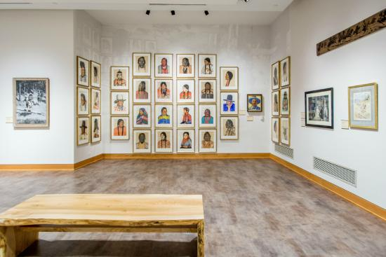Big Horn, WY: The Brinton Museum holds the world's largest collection of Winold Reiss Blackfoot Portraits