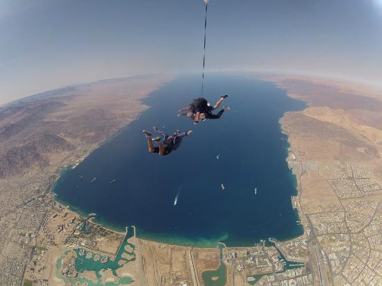 Skydive Eilat