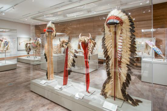 Big Horn, WY: The Gallatin Collection features American Indian art and artifacts and is on permanent display