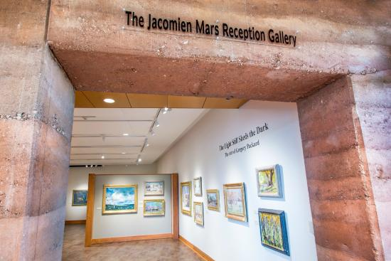 Big Horn, WY: The Brinton Museum third floor gallery features contemporary art on view and for sale