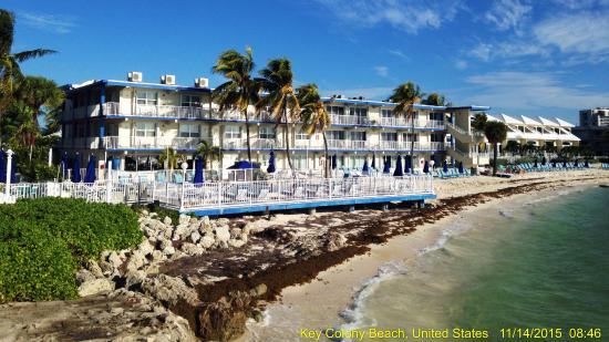 hotel view from pier picture of glunz ocean beach hotel. Black Bedroom Furniture Sets. Home Design Ideas
