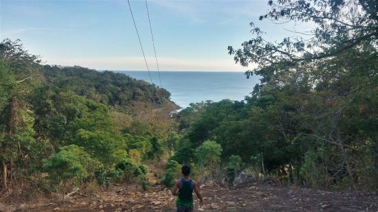 Bulalacao, Filippijnen: Trekking at Tambaron Island