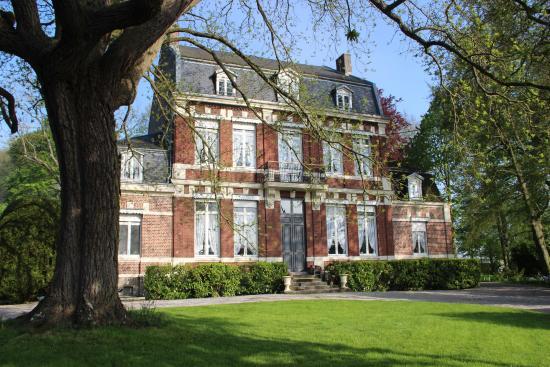 Saint-Venant, Prancis: Le Manoir de la Peylouse vu du Parc