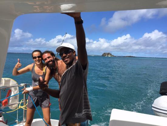 Κόλπος Simpson (Λιμνοθάλασσα), Άγιος Μαρτίνος: Welcome aboard