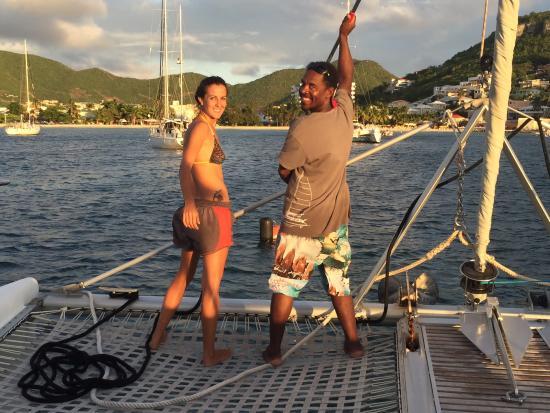 Simpson Bay, St. Martin/St. Maarten: Having fun