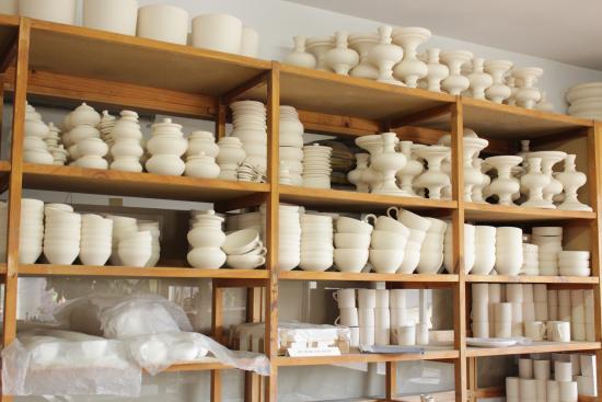 Piezas en bizcocho fotograf a de tour ceramica bariloche for Bizcochos de ceramica