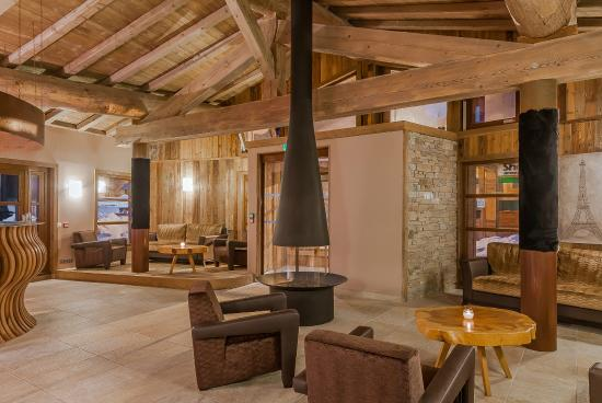 Residence Les Balcons Platinium A Val Thorens Reception Picture