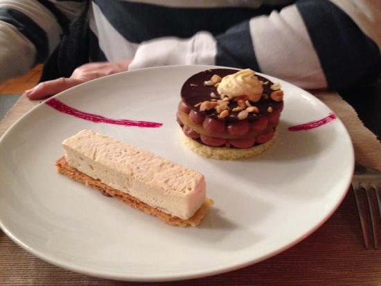 Touques, Frankrike: Dessert chocolaté pour les accros du cacao