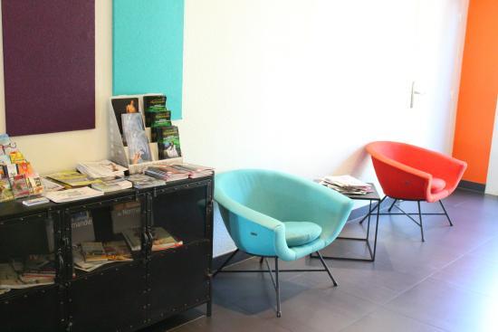 Hôtel Relais d'Étretat : Salon