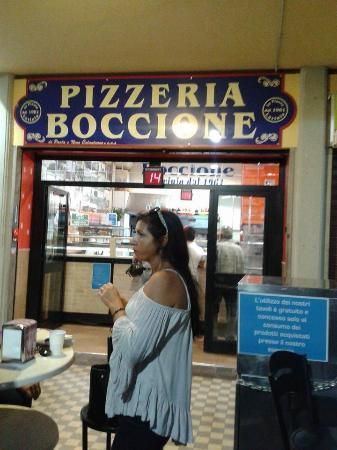 pizza a taglio Boccione