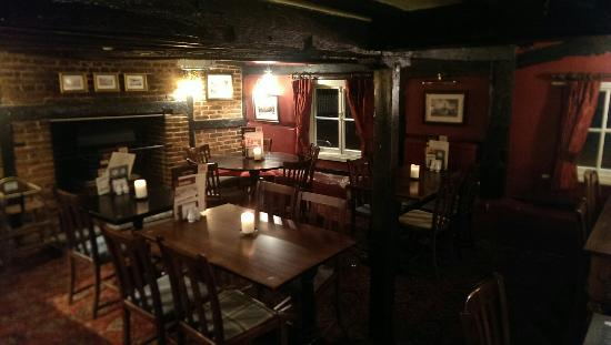 The thatched cottage dining room - Picture of Thatched ...