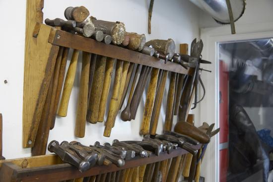 Ditchling, UK: Tools of the trade
