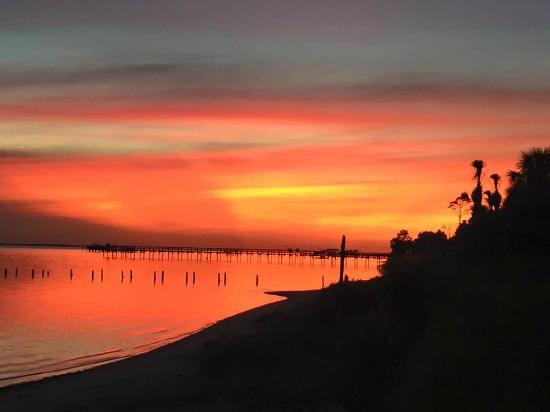 Santa Rosa RV Resort: Sunset from the resort
