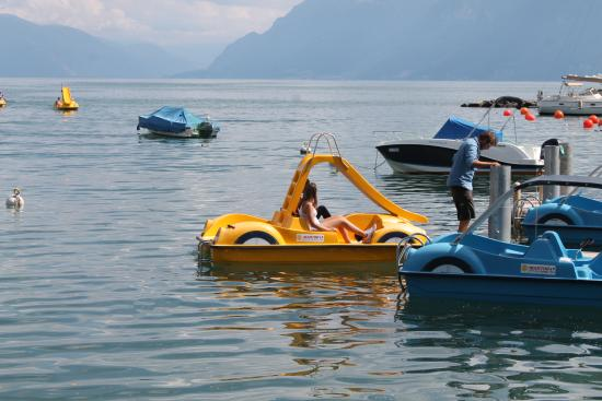 La Suisse Steam Paddle Boat Boats