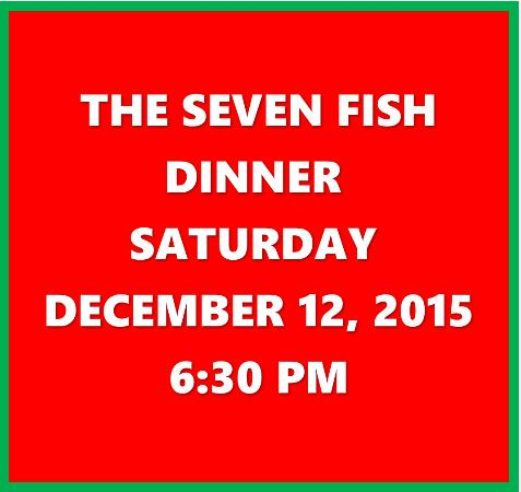 Stone Harbor, Nueva Jersey: Seven fish dinner